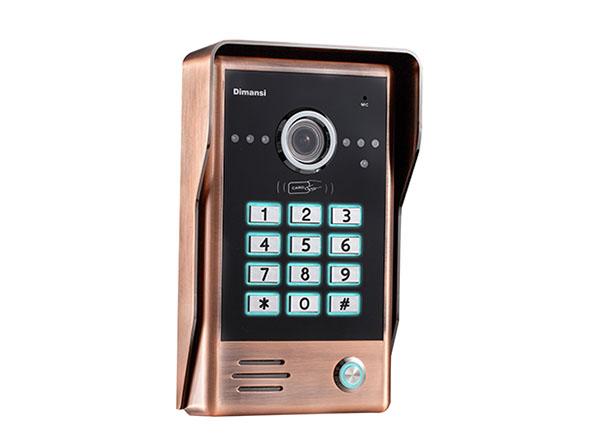 密码刷卡门口机(T-10CG)